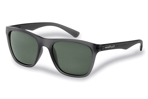 Flying Fisherman - Fowey 7837 Gunmetal Sunglasses, Smoke Lenses
