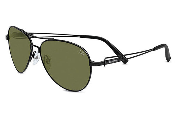 Serengeti - Brando Satin Black Sunglasses, 555nm Lenses