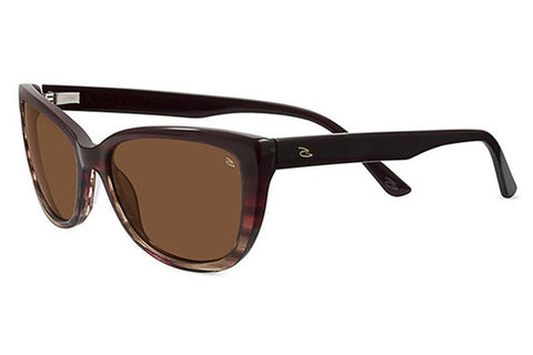 Serengeti - Sophia Red Taupe Tortoise Sunglasses, Polarized Drivers Lenses