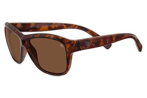 Serengeti - Gabriella Shiny Red Tortoise Sunglasses, Polarized Drivers Lenses