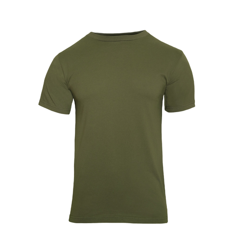 Rothco - 100% Cotton Solid Color Olive Drab T-shirt