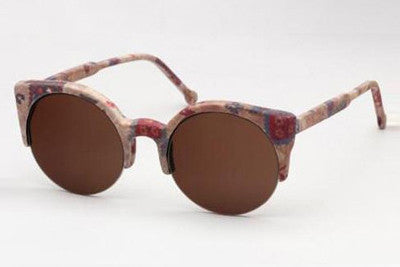 Super - Lucia Fabric Sunglasses