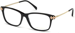 Emilio Pucci - EP5054 Shiny Black Eyeglasses / Demo Lenses
