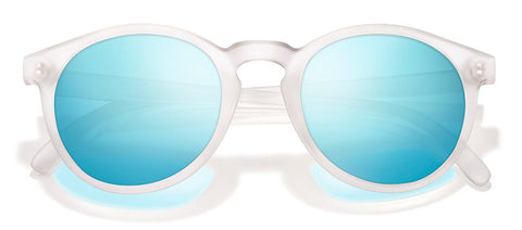 Sunski - Dipseas Frosted Sunglasses / Sky Polarized Lenses