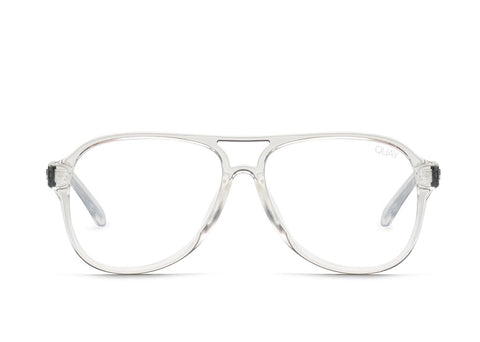 Quay Magnetic Clear Eyeglasses / Clear Blue Light Lenses
