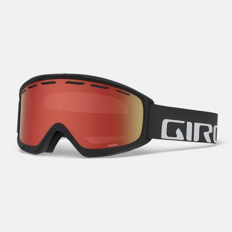 12e48b16f7c Giro Index OTG Black Wordmark Snow Goggles   AR40 Lenses
