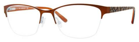 Adensco - Ad 221 53mm Light Brown Eyeglasses / Demo Lenses