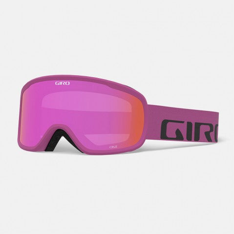 Giro - Cruz Berry Wordmark Snow Goggles / Amber Pink Lenses