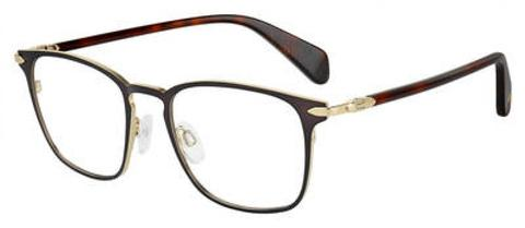 Rag & Bone - Rnb 7015 Matte Brown Eyeglasses / Demo Lenses
