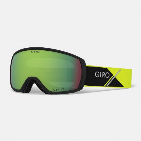 Giro - Balance Yellow Sport Tech Snow Goggles / Vivid Emerald Lenses