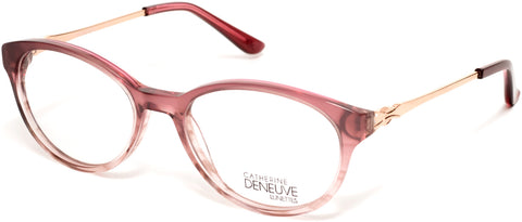 Catherine Deneuve - CD0422 49mm Shiny Pink Eyeglasses / Demo Lenses