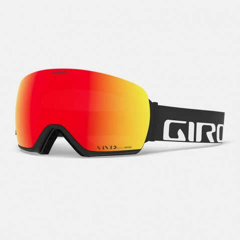 Giro - Article Black Wordmark Snow Goggles / Vivid Ember + Vivid Infrared Lenses