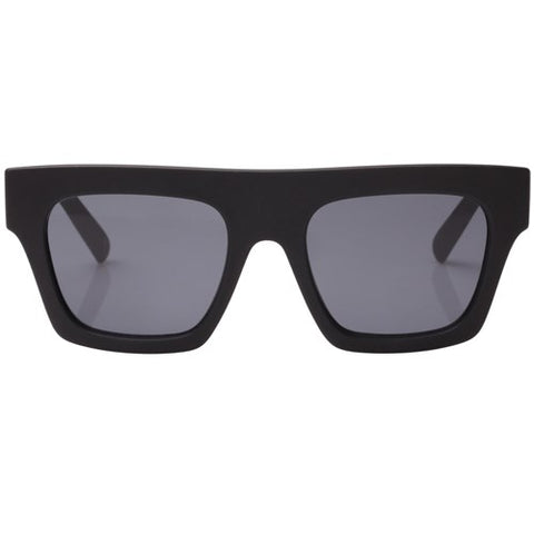 Le Specs - Subdimension Black Sunglasses / Smoke  Lenses