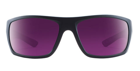 Native - Distiller Matte Black Sunglasses / Violet Reflex Lenses