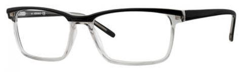 Adensco - Ad 119 54mm Black Gray Eyeglasses / Demo Lenses
