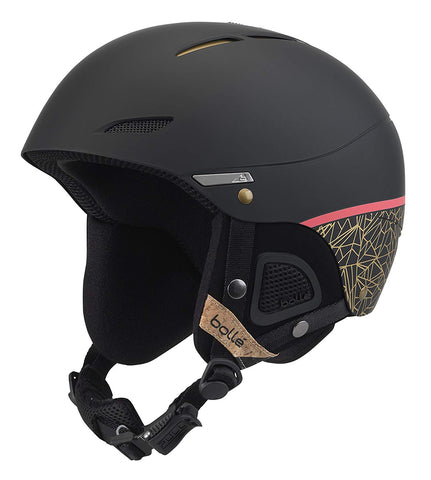 Bolle - Juliet 54-58cm Black Rose Gold Snow Helmet