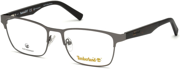 Timberland - TB1575 57mm Matte Gunmetal Eyeglasses / Demo Lenses