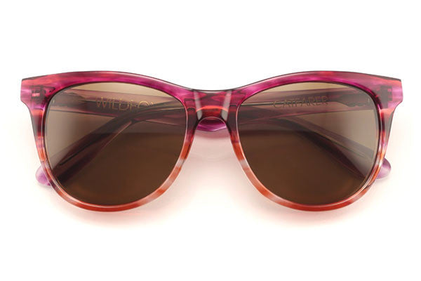 Wildfox - Catfarer Feather Sun Sunglasses