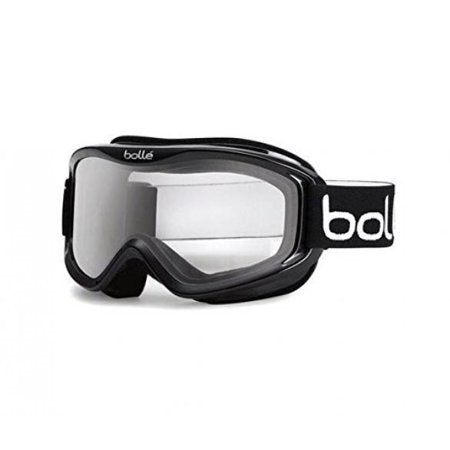 Bolle Mojo Shiny Black Snow Goggles / Clear Lenses