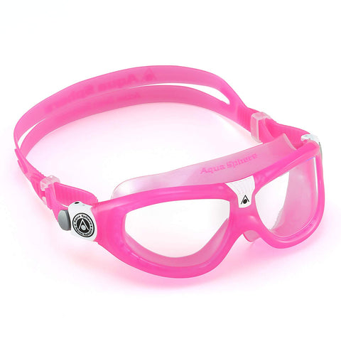Aqua Sphere - Seal Kid 2 Pink White Swim Goggles / Clear Lenses