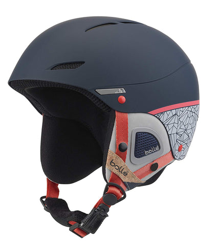 Bolle - Juliet 52-54cm Navy Rose Snow Helmet