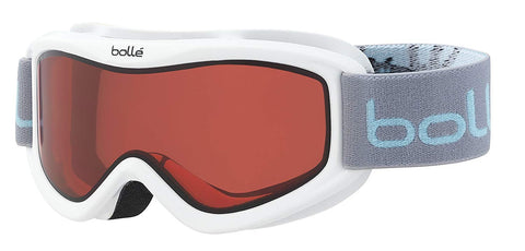 Bolle - AMP White Caribou Snow Goggles / Vermillion Lenses