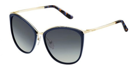 Max Mara - Classy I Light Gold Blue Sunglasses / Gray Gradient Lenses