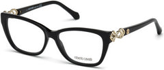 Roberto Cavalli - RC5060 Licciana Shiny Black Eyeglasses / Demo Lenses
