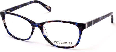 Cover Girl - CG0545 Blue Eyeglasses / Demo Lenses