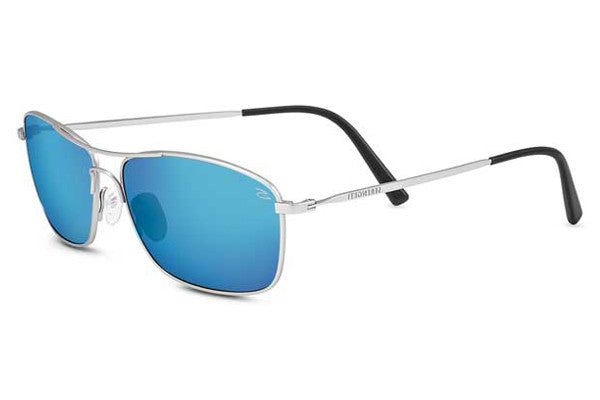 Serengeti Corleone Shiny Titanium Polarized 555nm Blue OAWxzR