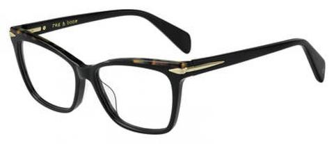 Rag & Bone - Rnb 3021 53mm Black Eyeglasses / Demo Lenses