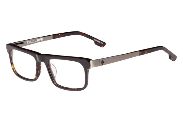 Spy - Clive Dark Tort / Gunmetal Rx Glasses