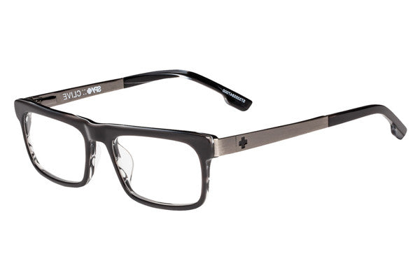 Spy - Clive Black Horn / Gunmetal Rx Glasses