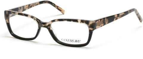 Cover Girl - CG0536 Black Eyeglasses / Demo Lenses