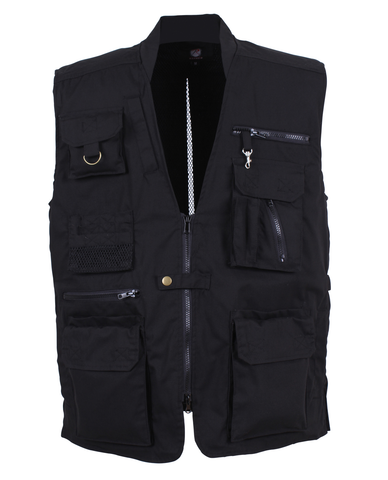 Rothco - Plainclothes Concealed Carry Black Vest