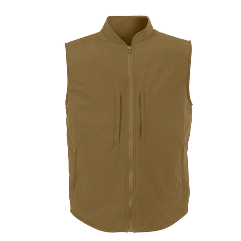 Rothco - Concealed Carry Soft Shell Coyote Brown Vest
