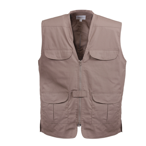 Rothco - Concealed Carry Lightweight Professional Khaki Vest