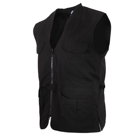 Rothco - Concealed Carry Lightweight Professional Black Vest