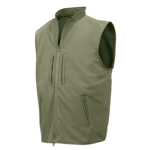 Rothco - Concealed Carry Soft Shell Olive Drab Vest
