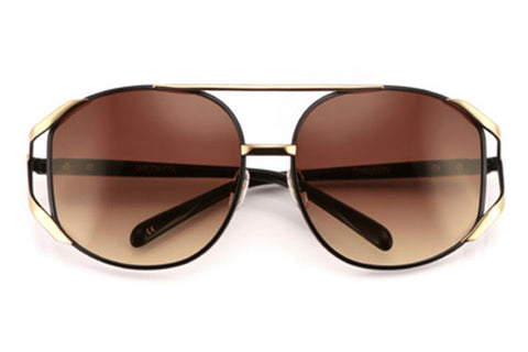 Wildfox - Dynasty Black & Gold Sunglasses