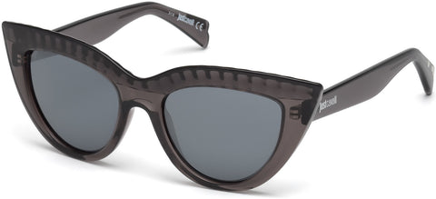 Just Cavalli - JC746S Grey Sunglasses / Smoke Mirror Lenses