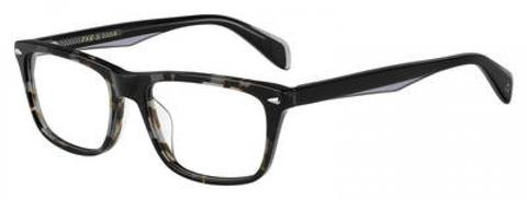 Rag & Bone - Rnb 7014 Gray Black Spotted Eyeglasses / Demo Lenses