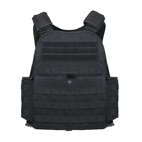 Rothco - MOLLE Black Carrier Vest