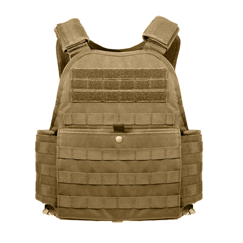 Rothco - MOLLE Coyote Brown Carrier Vest