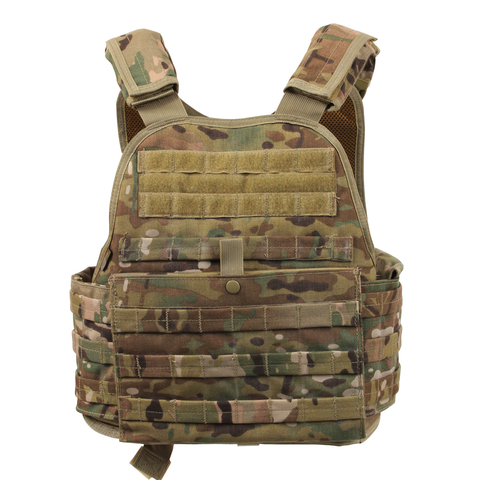 Rothco - MOLLE MultiCam Carrier Vest