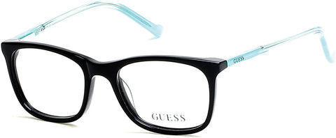 Guess - GU9164 Shiny Black Eyeglasses / Demo Lenses