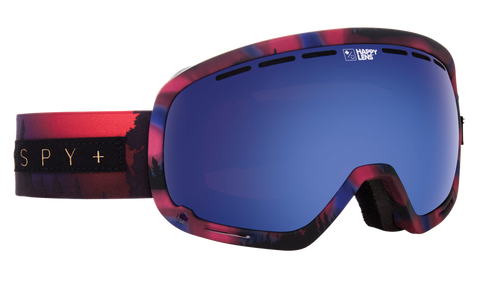 Spy - Marshall Aurora Pink Snow Goggles / Happy Rose Dark Blue Spectra Lenses