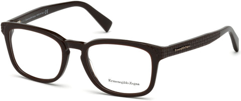 Ermenegildo Zegna - EZ5109 Dark Brown Eyeglasses / Demo Lenses