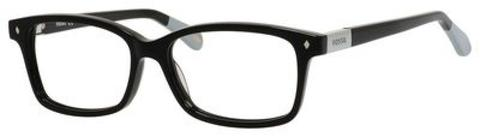 Fossil - Fos 6047 Black Eyeglasses / Demo Lenses