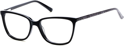 Rampage - RA0200 Black Eyeglasses / Demo Lenses